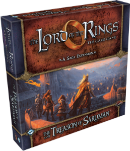 Lord of the Rings : The Card Game - A Saga Expansion - The Treason of Saruman